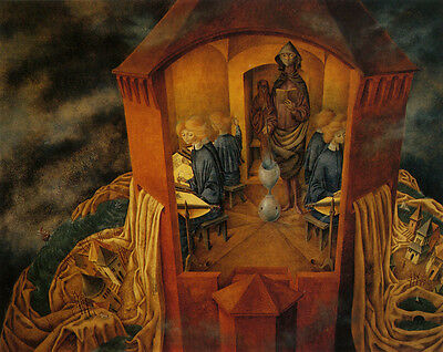 Embroidering the Earths Mantle  by Remedios Varo   Giclee Canvas Print Repro for sale  Centralia
