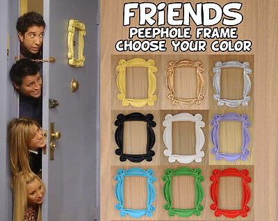 Friends frame tv show -  peephole frame monica's door - you'll love it !!
