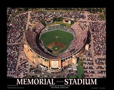 Memorial Stadium Final Game Baltimore Orioles Cal Ripken Jr 8x10 Photo -
