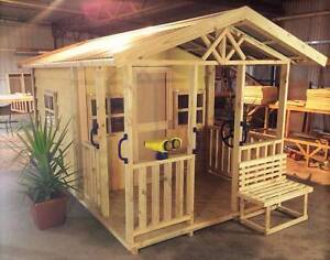kids wooden cubby house Donald Buloke Area Preview