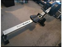 Fold away rowing machine