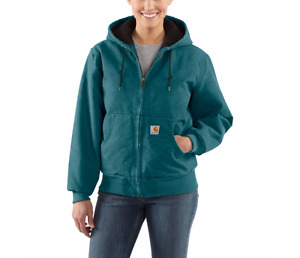 Carhartt Women's Lined Sandstone Active Jacket NWT