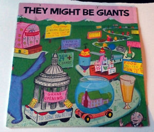 They Might Be Giants Debut Pink Album Vinyl LP 1986 Bar/None 33