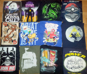 T-Shirts Ghostbusters TMNT X-Men Star Wars Spider-Man