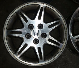 """Set of 16"""" OEM alloy rims for Acura or Honda -- 5x114"""