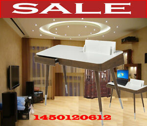 TV Stand & tables, consoles home office desks, arm chairs, 1450t