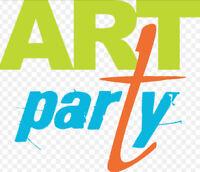 Birthday Party - Art Workshops