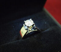 Beautiful 1.02ct Diamond Ring in 14kt Gold - Appraisal $11,500