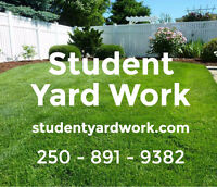 Student Yard Work - Professional Service, Affordable Rates