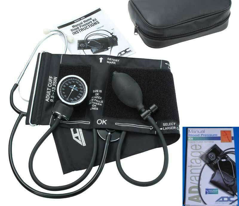 ADC ADVANTAGE 6005 Manual Blood Pressure Monitor Kit With Ad