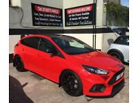 2018 18 FORD FOCUS RS 2.3 ECOBOOST 5DR MOUNTUNE M375 BHP *RED EDITION* DELIVERY