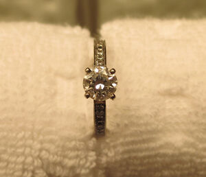 Beautiful Engagement Ring and band sale or trade