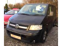 VOLKSWAGEN TRANSPORTER 2.5TDi PD ( 130PS ) SWB ( 2nd SEATS ) T32 2008