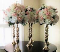 Florist,artificial centerpieces,church,decor,ceremony,rental