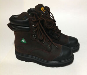 Road Mate Lite Men's Leather Steel Toe Work Boots - Size 7 EE