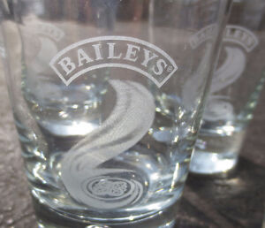SUPER DEAL - Baileys Irish Cream Tumblers - set of 6 glasses