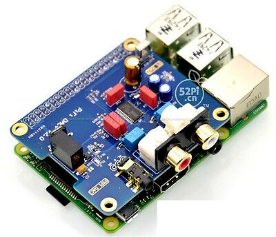 I2S Interface Special HIFI DAC+ Audio Sound Card For Raspberry PI B+/2B