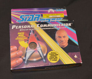 Star Trek TNG Personal Communicator never used
