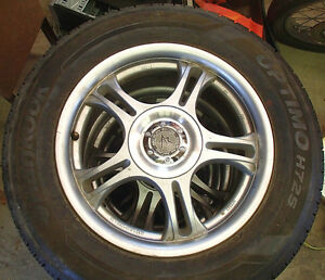 "American Racing Estrella 16"" X 7"" Rims with Hankook Tires"
