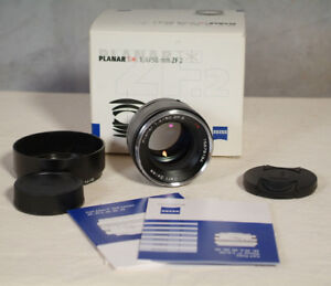 Carl Zeiss Planar T* 50mm F1.4 ZF.2 MF (for Nikon F mount) Mint.
