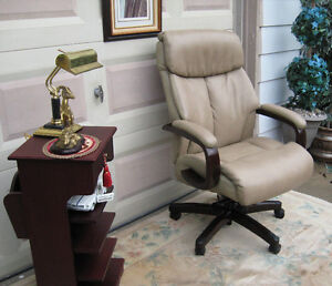 Leather Executive Chair by Lazboy