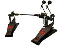 Axis Pedals All Black - Drums (Double Pedal with DW beaters)