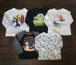 Toddler boy Halloween shirts size 3t