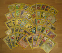50 Pokemon Holofoil Cards Ranging from edition 2 to 10