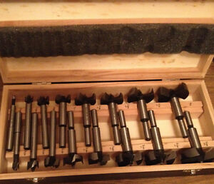 Forstner Bit Set, 16-pc / wood Edmonton Edmonton Area image 1