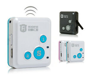 RF-V16 The Smallest Smart GPS Tracker Long Standby Time SOS Dual Talk Platform