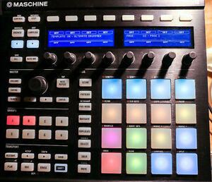 Native instrument machine mk2 black