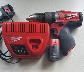 Milwaukee M12 Brushless Hammer Drill