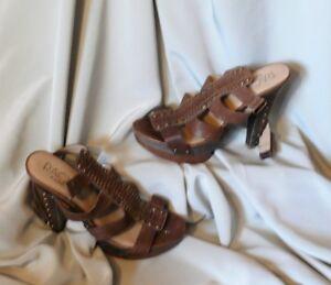 Women's sandals. High heels.