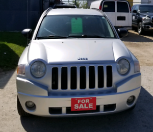 2008 Jeep Compass Heated Seats Safetied 4x4