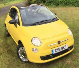 Fiat 500C 1.2**Convertible**ONLY 7,003 MILES**1OWNER FROM NEW!**