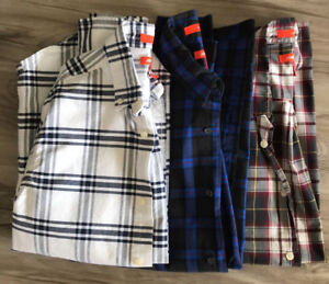 Men's Joe Fresh long sleeve plaid shirts