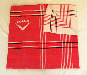 vintage volvo car blanket