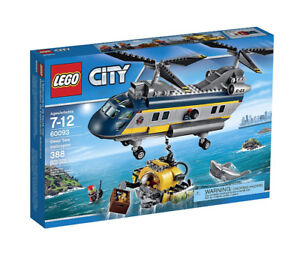 Brand new sealed Lego City Deep Sea Helicopter 60093 for sale