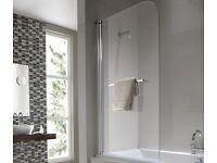 brand new boxes glass bath/shower screen