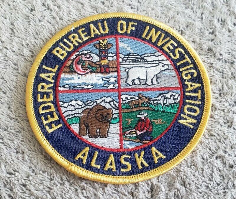 Fëderál Body of Investments Alaska Field Office Shoulder Patch