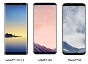 "Real Good Prices on Samsung Phones ""Samsung S8 @469$, Samsung S8+ @ 549$, Samsung Note 8 @ 679$-In Box w/Warranties"