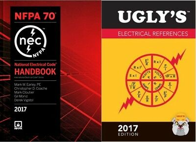 NFPA 70 2017: National Electrical Code NEC Handbook with Ugly's References 2017