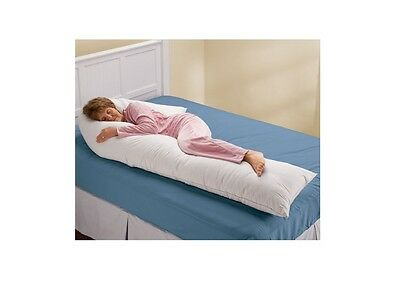 Wrap-Around Pillow Cuddle and Case XL, Supports Your Body As You Sleep, Relief