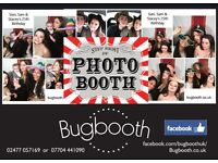 Photobooth packages from £195 - unlimited instant photos for any event