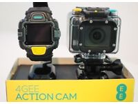 4G EE ACTION CAMERA WITH A VIEWFINDER WATCH