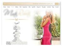 Website Design, Glamour website design 30 pounds
