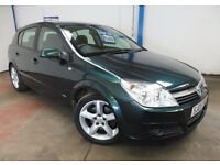 2005 Vauxhall Astra 1.9 CDTi SRi 150 in Digital Green Low Miles with Full History & New 12 Month MOT