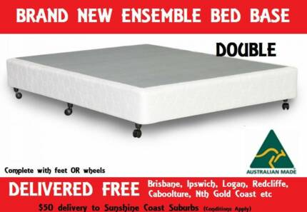 BRAND NEW Ensemble Base - DOUBLE SIZE - Delivered FREE New Farm Brisbane North East Preview