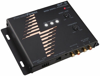 Bass Signal Processor - PRECISION POWER PPI BP.8 BASS EXPANDER SIGNAL PROCESSOR PARAMETRIC EQUALIZER EQ