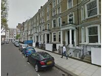 Studio flat in Lexham Gardens, High Street Kensington, London, W8